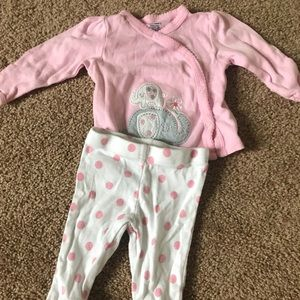 Adorable baby girls outfit